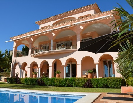 Villa with pool in Benalmádena-Costa